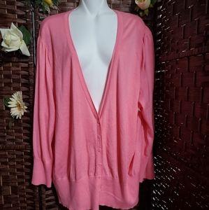 LANE BRYANT New Slim Sweter  light pink